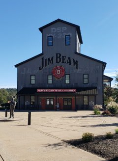 Jim Beam distillery in Clermont, Kentucky
