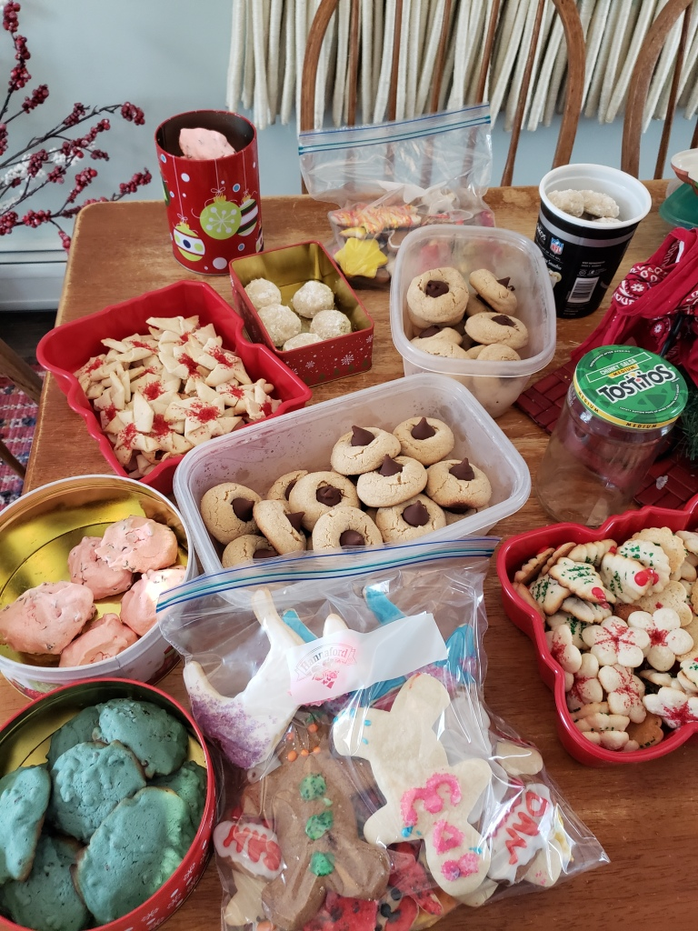 Some holiday traditions are hard not to follow through with like baking enough cookies to feed a small nation.